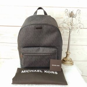 NWT! Michael Kors Jetset large travel backpack